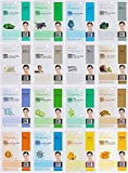DERMAL 16 Combo Pack Collagen Essence Facial Mask Sheet - The Ultimate Supreme Collection for Every...