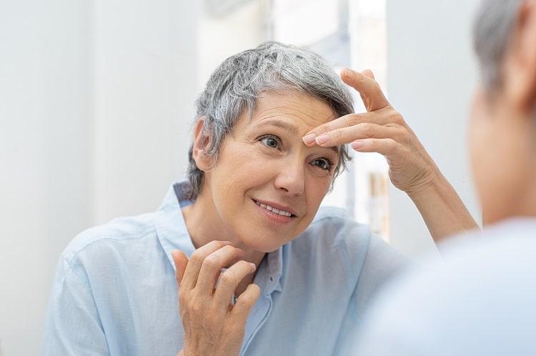causas envejecimiento facial