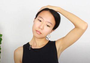 Automasaje para relajar el cuello