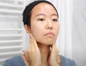 como hacer masaje facial