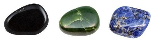 piedras rodillo de jade