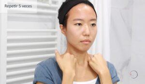 drenaje linfático de cara
